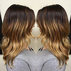 color melt, ombre, balayage