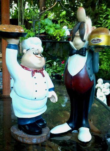 Bistros Figurine And Chefs On Pinterest