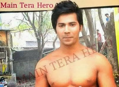 Shirtless Bollywood Men: Varun Dhawan