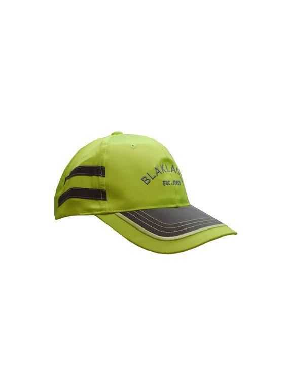 Zeige Details für Higs Vis Kappe 8610-1002:  Qualität 1002: 55% Polyester, 45% Polyamid Farben 3300 Gelb, Größe: One size