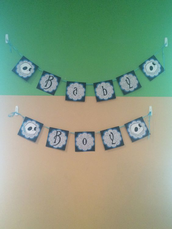 before christmas nightmare before christmas baby shower decorations