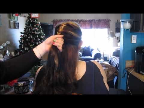 Pinterest Hairstyle Twisted Ponytail   Divine MissE - YouTube #Hair#hairstyle#longhair