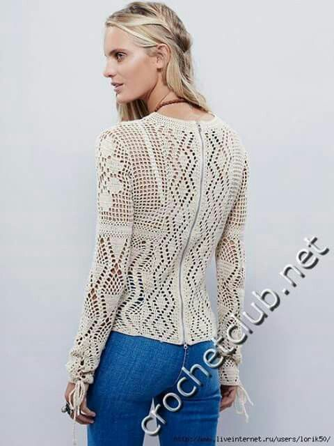 Pollera,crochet.