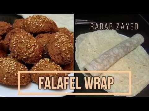 How To Make Falafel Wraps الطعمية Arabic Falafel Recipe طريقة عمل الفلافل Youtube Falafel Wrap Arabic Falafel Recipe Falafel