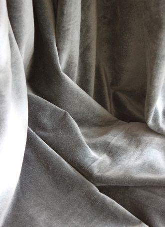 velvet curtain - lyric gray