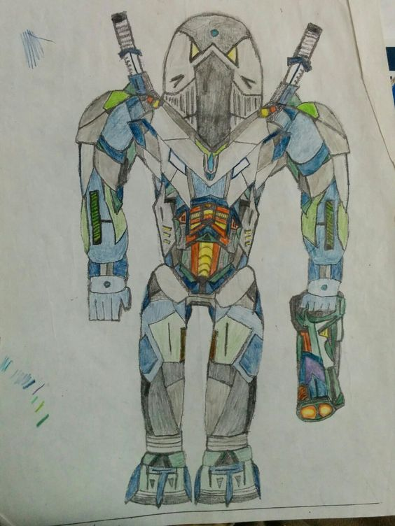 First Mech I ever drew. I also created a story that went along with it in which it was classified as 'Walton' and was part of a special division within the Freeworlder's Army