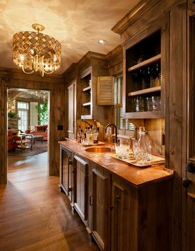 Copper wet bar