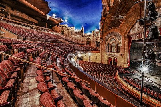inside the Fox Theater atlanta Pinterest