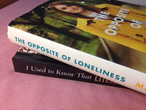 The Art Assignment - Sorted books; The opposite of loneliness: I used to know that; I love this one, so powerful