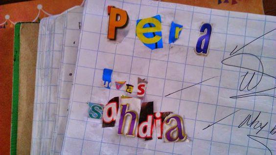 TIPS DE ACTIVIDADES PARA TU GRUPO ESCOLAR: Buscando letras en portadores de texto (revistas)