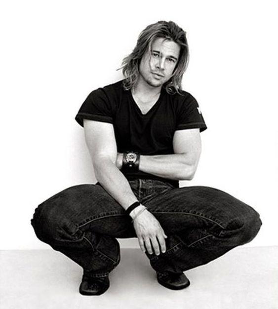 @PinFantasy - Brad Pitt by Annie Leibovitz ~~ For more:  - ✯ http://www.pinterest.com/PinFantasy/gente-~-celebs-celebridades/: