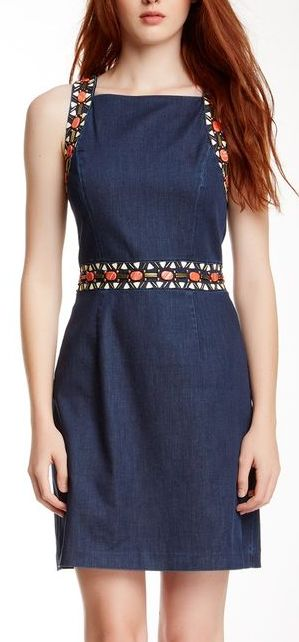 I…might…maybe…probably not but I'll say I will…wear this dress to a certain sporting event that may kill me to attend. But I will live.