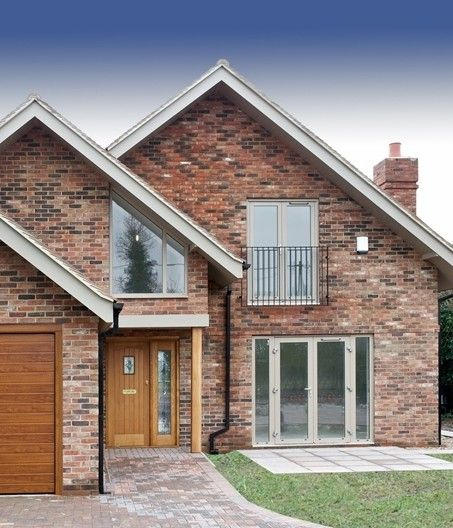 H+H's innovative Rå Build method has been used for a private self-build project in Bottle Lane, Maidenhead.