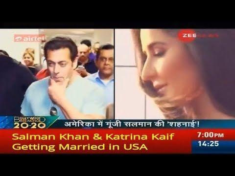 Salman Khan Katrina Kaif Getting Married In Usa Youtube Katrina Kaif Salman Khan