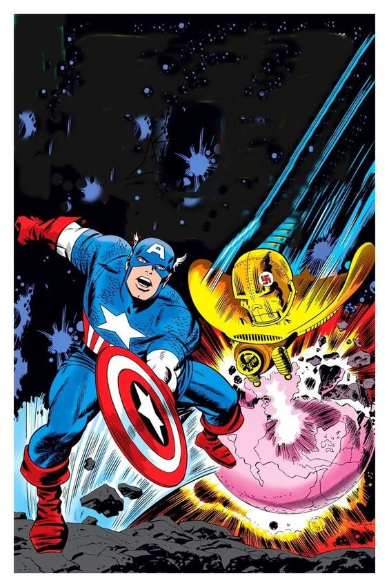 Capitão de Jack Kirby