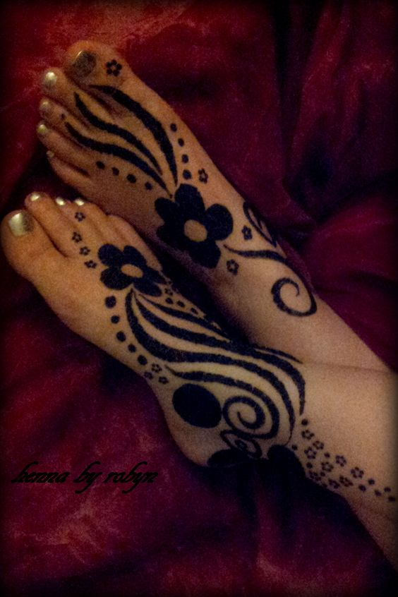 Sudanese Henna Designs: Sudanese Henna Design Is Distinctively Characterized By