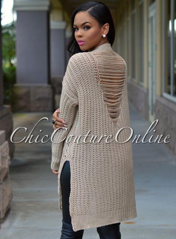 Forever 21 Shredded Sweater in Black   Lyst