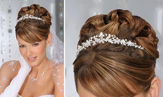 Wedding Hairstyles Up Dos With Tiara Wedding Hairstyles Up Dos With Veil 2012 Updospromhairsty Wedding Hair Up Wedding Hairstyles Updo Bride Hairstyles Updo