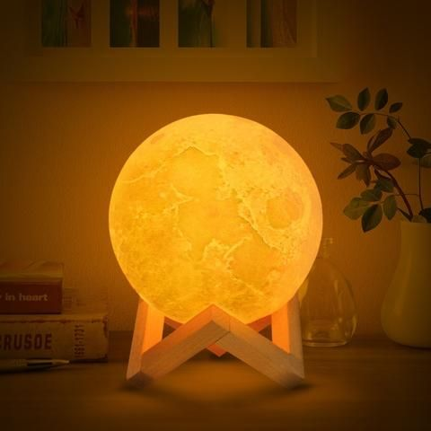 3d Print Moon Lamp Led Night Light Lamp Led Night Light Night Light