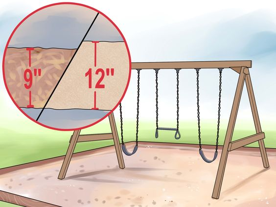 When installing any swing set, you should anchor the equipment into the ground to prevent it from flipping over while in use. Concrete anchors are the most secure, but if you're installing the swing above packed ground, you could use...