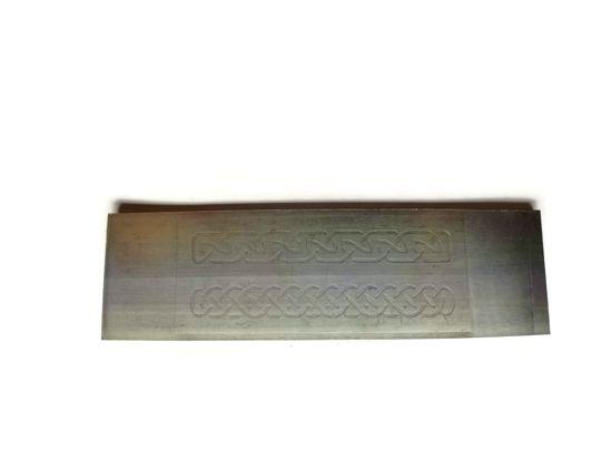 Celtic Knots 2 Rmp020 Engraved Plates Non Ferrous Metals Patterned Plates