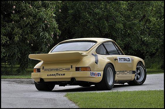 1974 Porsche 911 RSR IROC The Emerson Fittipaldi Car