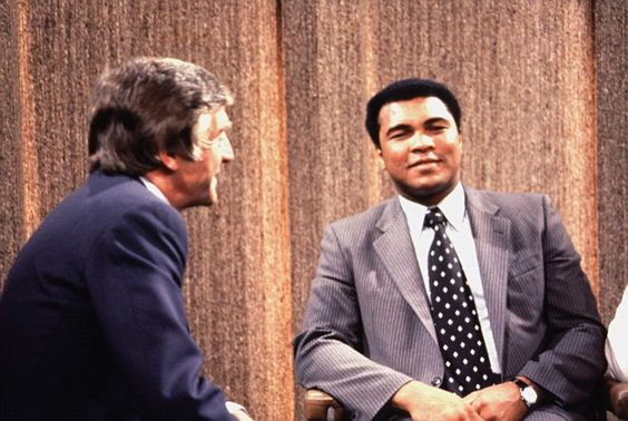Muhammad Ali famously called Michael Parkinson a 'honky' and jokingly squared…