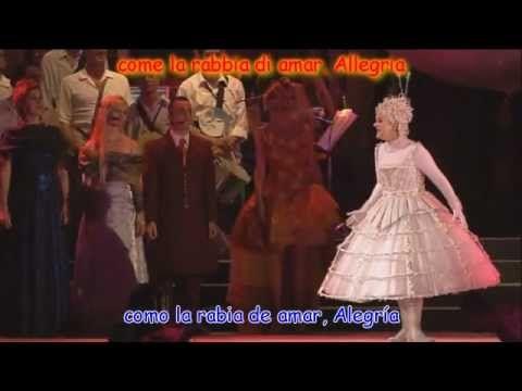 Circo Del Sol Alegria Subtitulado Completo Al Español Circo Del Sol Musica Alegria Circo