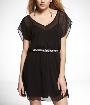 Got this dress today at Express and it is so cute!!!  Can't wait until it warms up a little more.  :-)