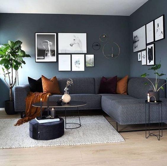 "Interior & Scandinavian Homes on Instagram: ""The beautiful living room of @cari ..., #acari #beautiful #homes #instagram #interior #living #scandinavian"