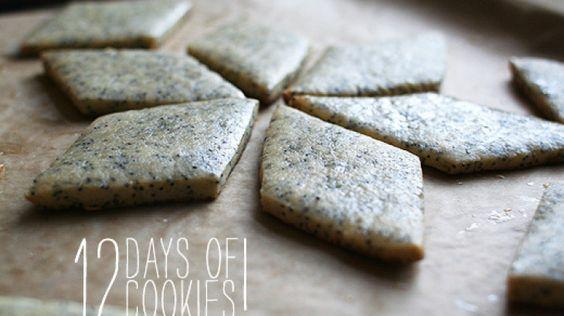 Poppy Seed-Honey Cookies
