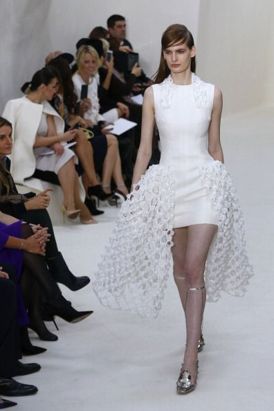 Dior sposa 2014 minigonna