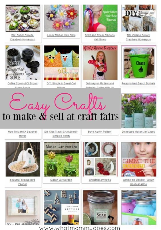 50 crafts you can make and sell creativity for kids for Money making craft projects