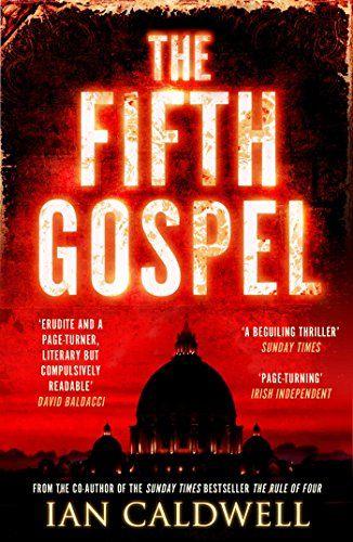 The Fifth Gospel: An unputdownable conspiracy thriller - http://www.darrenblogs.com/2017/03/the-fifth-gospel-an-unputdownable-conspiracy-thriller/