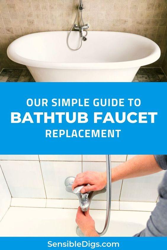 Replacing An Old Bathtub Faucet Can Be A Great Way To Breathe New