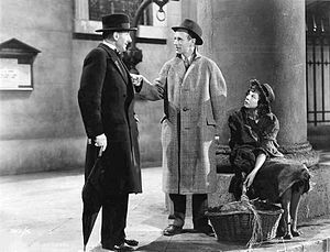 Leslie Howard, Wendy Hiller and Scott Sunderland in Pygmalion 1938