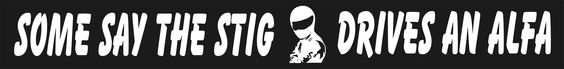 "British TV Series ""Top Gear"" Mystery Race Car Driver ""STIG"""