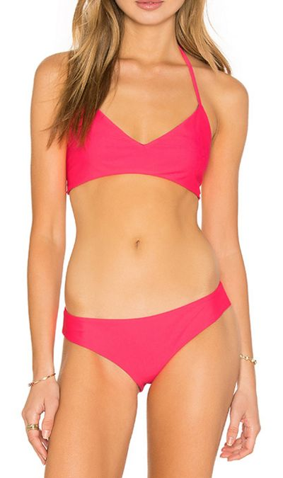 Reversible bikini in summer brights