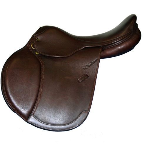 Lucia II Double Leather Close Contact Saddle by Marcel Toulouse