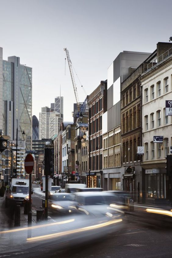 DUGGAN MORRIS ARCHITECTS CURTAIN RD. LONDON, UNITED KINGDOM Photos ...