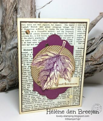 Lovely-Stamping, Stampin'Up! producten bestel je hier
