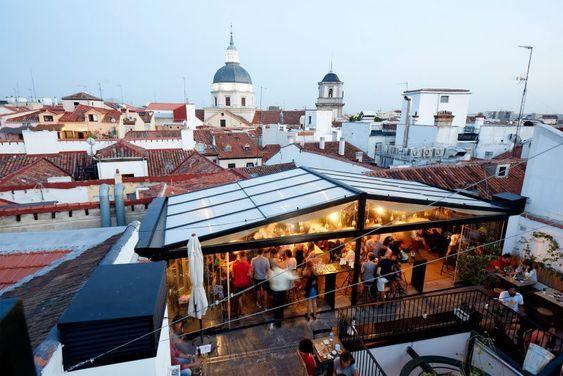 Hostales Cool En Madrid Para Dormir Barato En El Centro Y Con Estilo Terrazas Hostal Azoteas