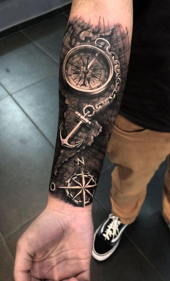 Tatuajes Para Hombres Antebrazo 92 Fotos Actualizado En 2020 Tatuajes Para Hombres En El Antebrazo Tatuajes Para Hombres Tatuajes Femeninos Brazo