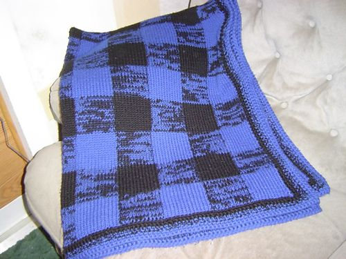 Georgia Afghan Knitting Pattern : Plaid, Libraries and Buffalo on Pinterest