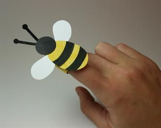 bee finger puppet template crafts search and finger puppets on pinterest