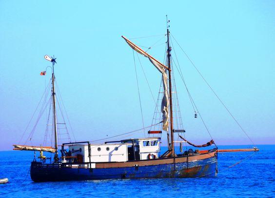 Barco pesqueiro- Praia de Sesimbra