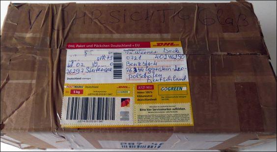 Ein überraschendes Geschenkpaket für mich, als Dankeschön für die jahrelangen Geburtstagsreime