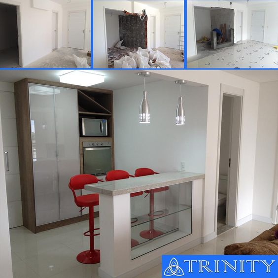 Projeto - Cozinha e Sala