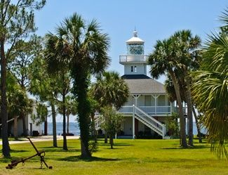 St. Joseph Point Lighthouse, Florida at Lighthousefriends.com