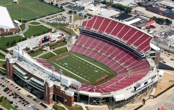 Papa John S Cardinal Stadium University Of Louisville Louisville Jefferson County Kentucky University Of Louisville Louisville Stadium